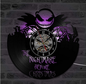 Nightmare Before Christmas Jack Skellington LED Clock