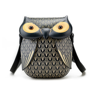 Vintage Owl Shoulder Purse Hand Mini Bags