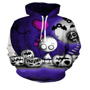 Creepy Feeling 3D Hooded Sweatshirt