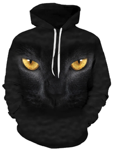 The Black Cat Hooded Sweatshirt