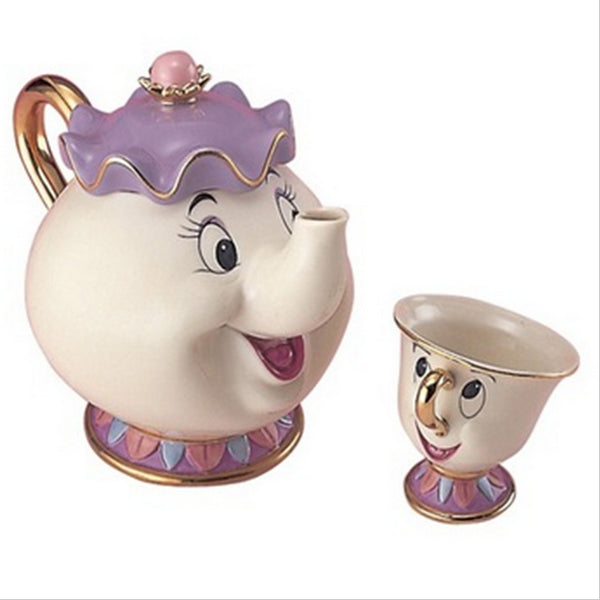 Beauty And The Beast Teapot Mug or 2PC Set
