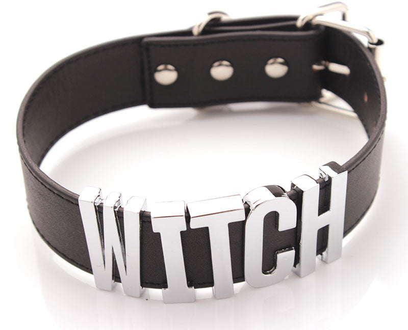 Witch Necklace Choker Collar