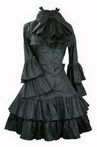 Butterfly Sleeve Gothic Lolita Dress