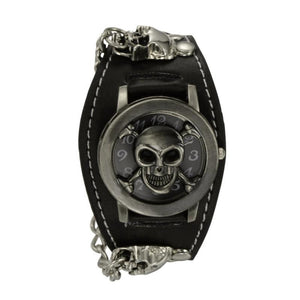 Punk Style Chain Skull Band Gothic Wrist Watch