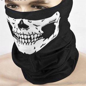 Skull Mask Multi Function Motorcycle Bicycle Headwear Scarf