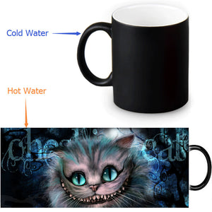 The Cheshire Cat Custom Made Morphing Ceramic Cup