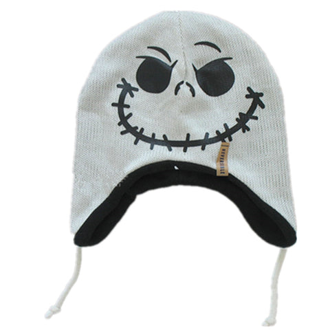 New Fashion Nightmare Before Christmas Jack Skellington Skull Reversible Hat