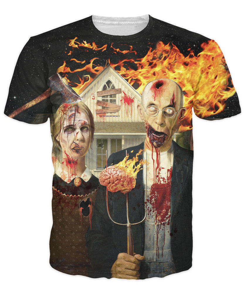 American Zombie T-Shirt