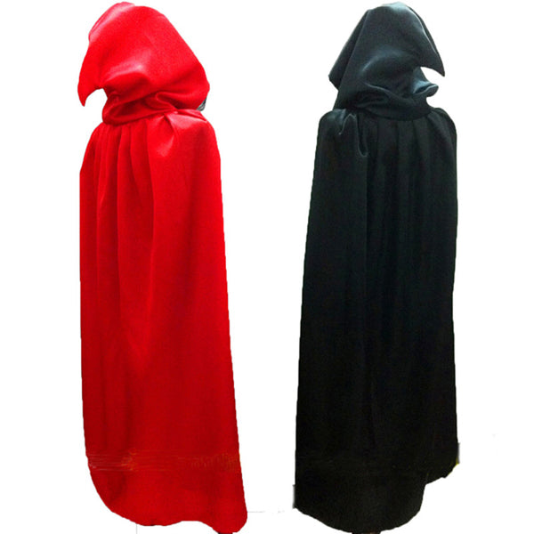 Gothic Hooded Cape Halloween Costume