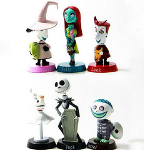 6pcs Nightmare Before Christmas Action Figure Collection