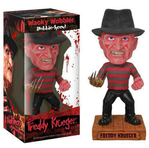 Wacky Wobbler Freddy Krueger Bobble Head Doll