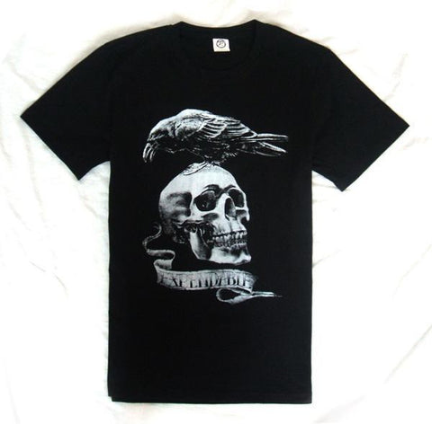The Expendable Black Skull T Shirt