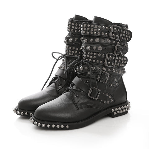 Black Gothic Boots