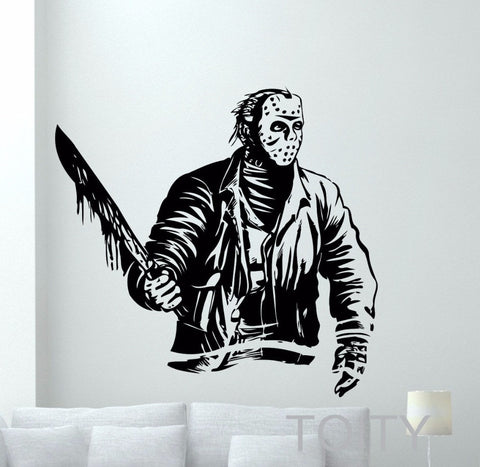 Jason Voorhees Wall Decal