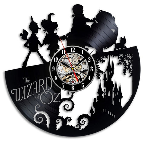 The Wizard Of OZ Vinyl Record Wall Clock