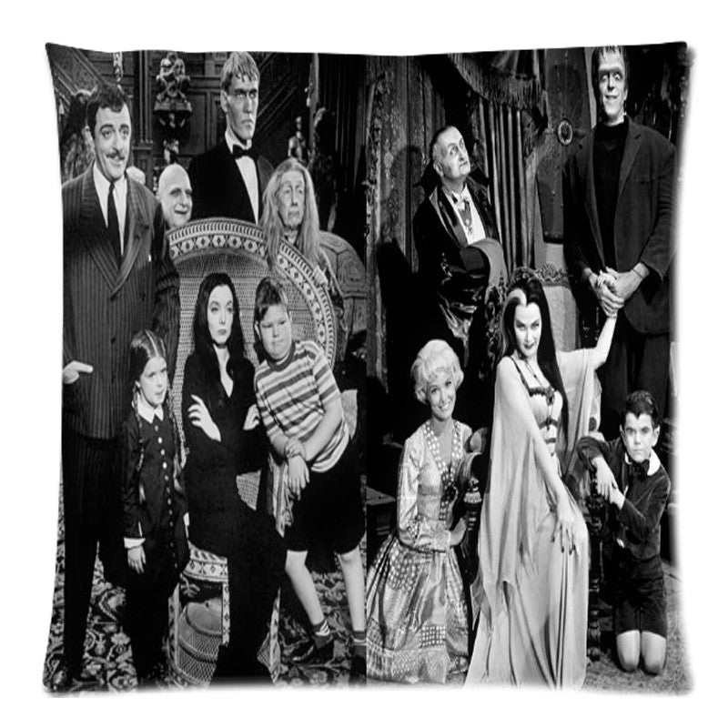 The Addams Family Two Side Print Throw Pillows Case