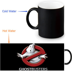 Ghost Busters Heat Changing Color Mug