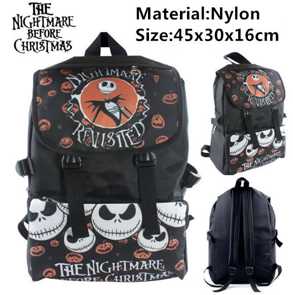 new the nightmare before christmas jack backpack - Nightmare Before Christmas Backpack