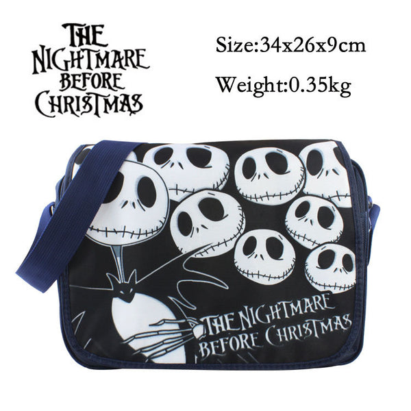 The Nightmare Before Christmas Messenger Canvas Shoulder Bag