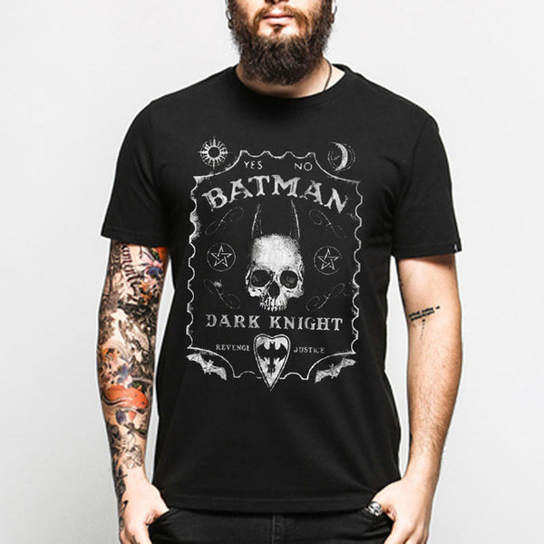 Men Cotton Designs Gothic T-Shirt
