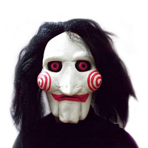 Movie Saw Jigsaw Halloween Mask