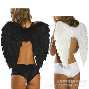Adult Angel Feather Wings Halloween Costume