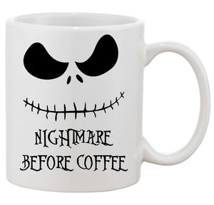 Jack Skellington Nightmare Before Coffee Mug