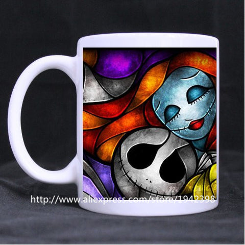 Nightmare Before Christmas Jack & Sally Transforming Mug
