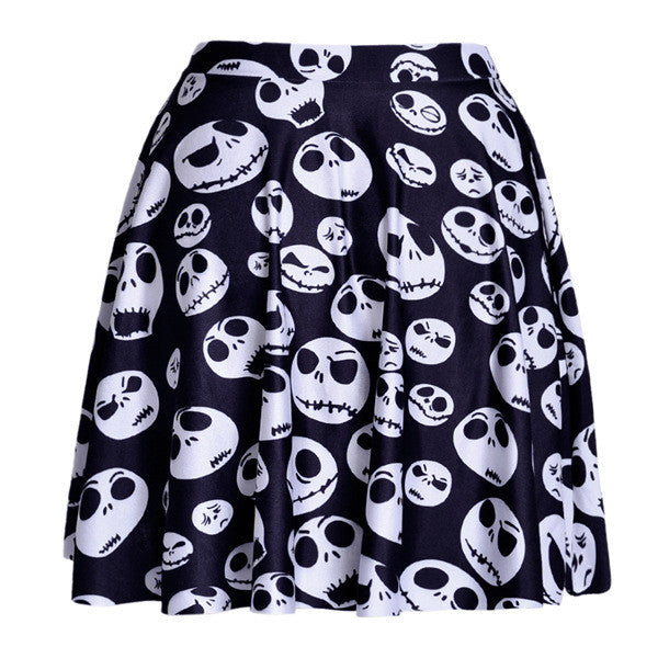 Jack Skellington Skull Skirt
