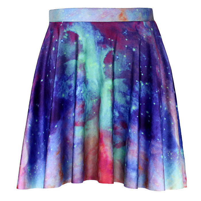 Galaxy Sky Women Skirt