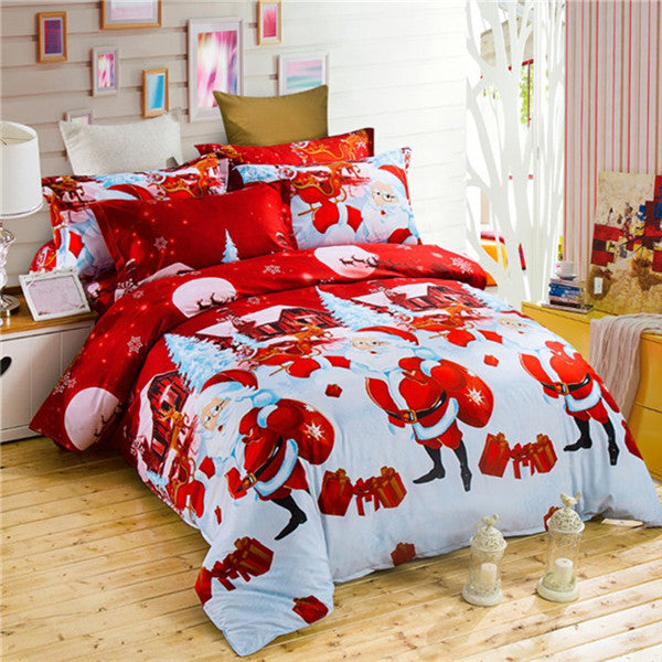Christmas Bedding Duvet Cover Sets 2-4pcs