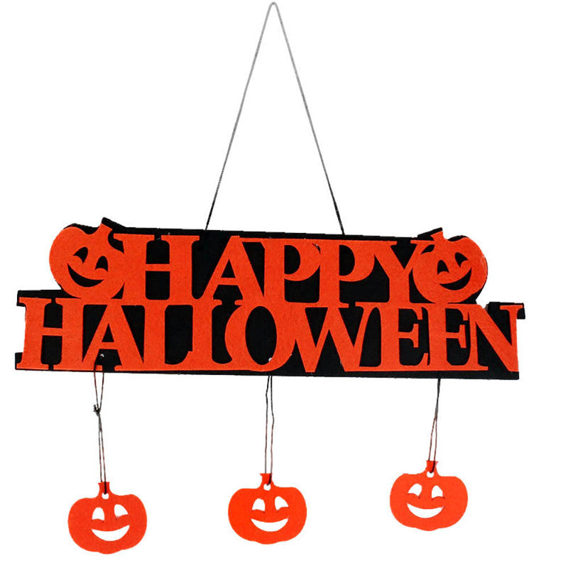 Happy Halloween Hanging Decoration Sign