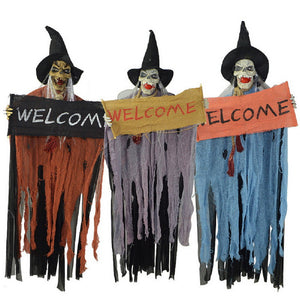 1pc Halloween Hanging Reaper Ghost Decoration Prop Random Color
