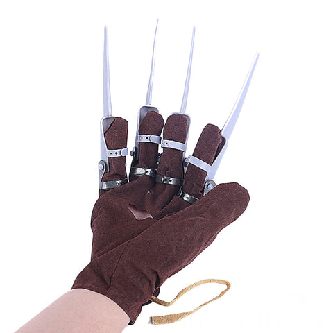 Halloween Nightmare on Elm Street Freddy Krueger Glove