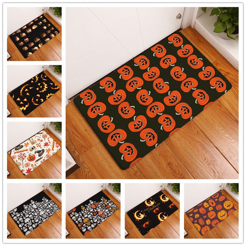 New Anti-Slip Halloween Print Floor Rug