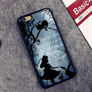 Alice in Wonderland Mystery Phone Case for IPhone