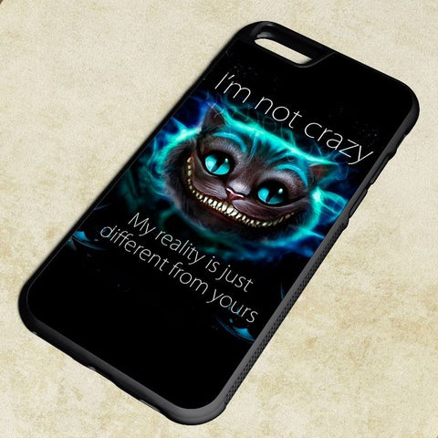 Alice in Wonderland Cheshire Cat Reality Phone Case for IPhone
