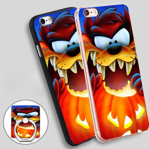 Halloween Jack O Lantern Taz Cartoon Phone Case Cover for iPhone