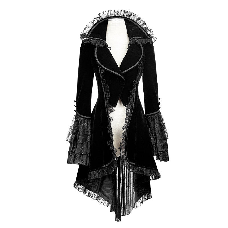 Punk Rave Black Gothic Jacket