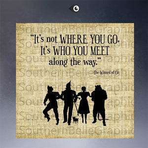The Wizard of Oz Printed Canvas
