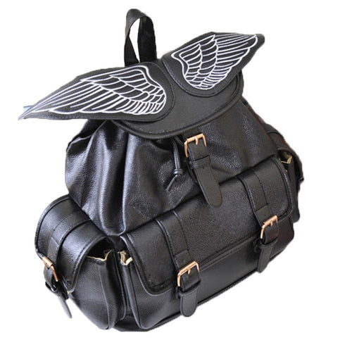 Anime Cartoon Angel Wings Sweet/Gothic Lolita Cosplay Backpack