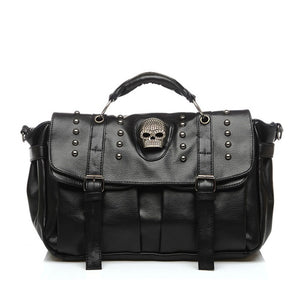 Women's Cross Body Skull Messenger Bag