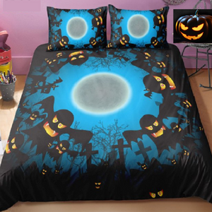 Halloween Ghosts Duvet Bedding Set