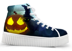 ForU  Halloween Themed  Custom Printed Shoes