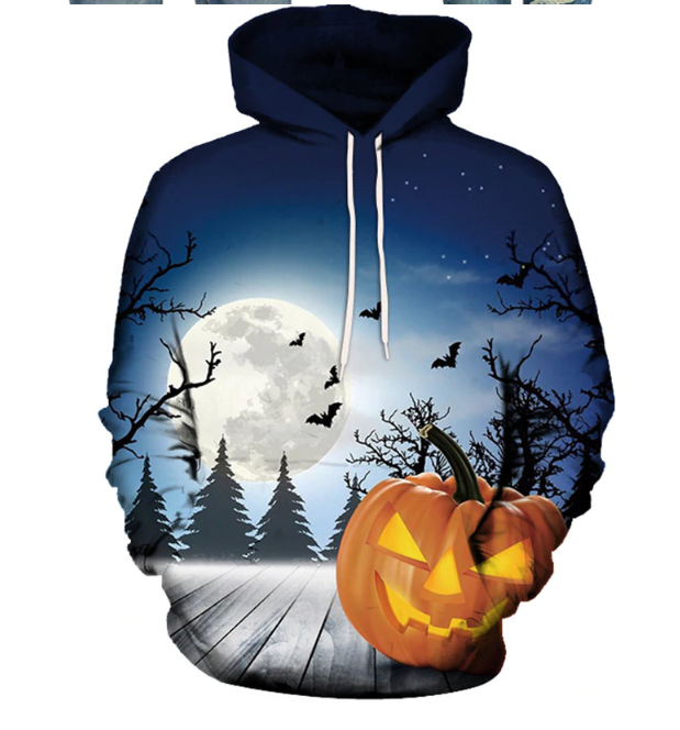 The Creepy Halloween Night Hoodie