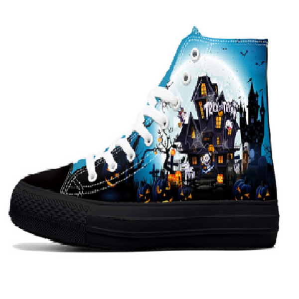 Halloween Themed Custom Made Women's Shoes