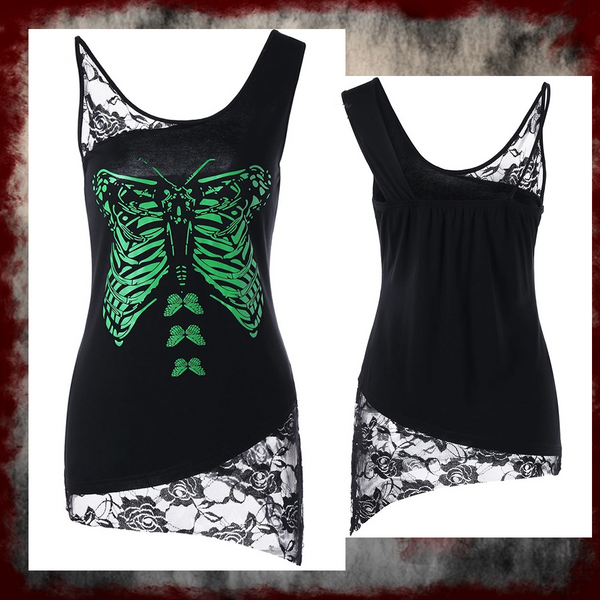 Rosetic Butterfly Mind Tank Top