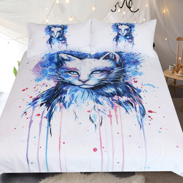 Space by Pixie Cold Art Bedding Set  3pc Duvet Bedding Set