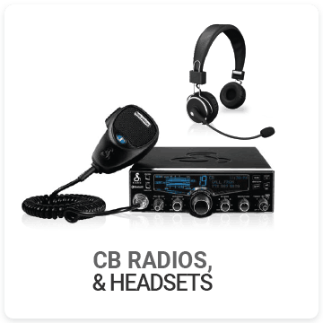 CB Radios, Microphones, and Headsets