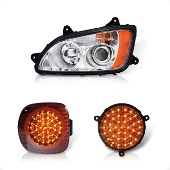 Headlights, Turn Signals and Bezels